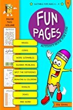 Fun Pages Activity Book for Kids