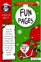 Fun Pages Christmas Activity Book for Kids