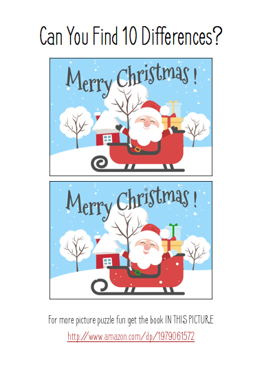 Find The Difference - Santa's Sleigh .png
